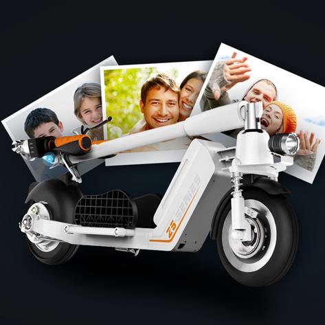 Elektrická koloběžka Airwheel Z5 - univerzální pro všechny