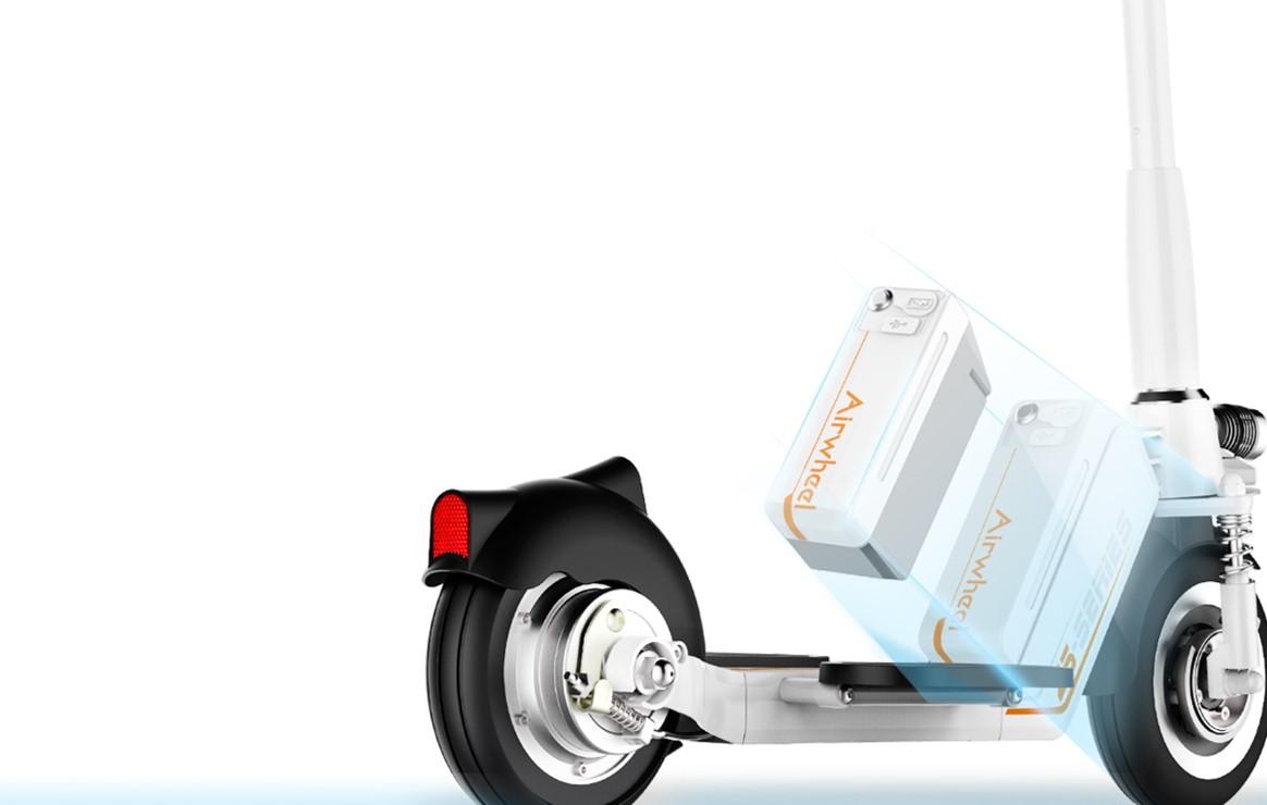 Výměna baterie elektrické koloběžky Airwheel Z5