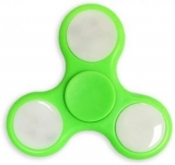 SPINEE Fancy LED Green Fidget Spinner