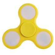SPINEE Fancy LED Yellow Fidget Spinner