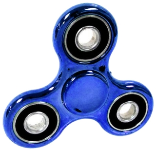 SPINEE Steel Blue Fidget Spinner