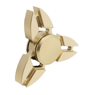 SPINEE Iron Shuriken Gold Fidget Spinner