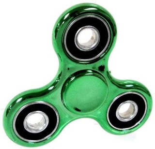 SPINEE Steel Green Fidget Spinner