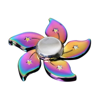 SPINEE Rainbow Flower Fidget Spinner