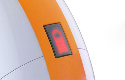 Indikátor nabití baterie elektrické jednokolky Eljet