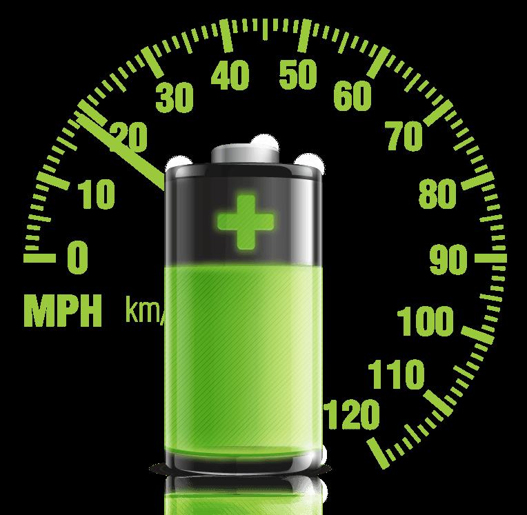 Výdrž baterie elektrické jednokolky Eljet